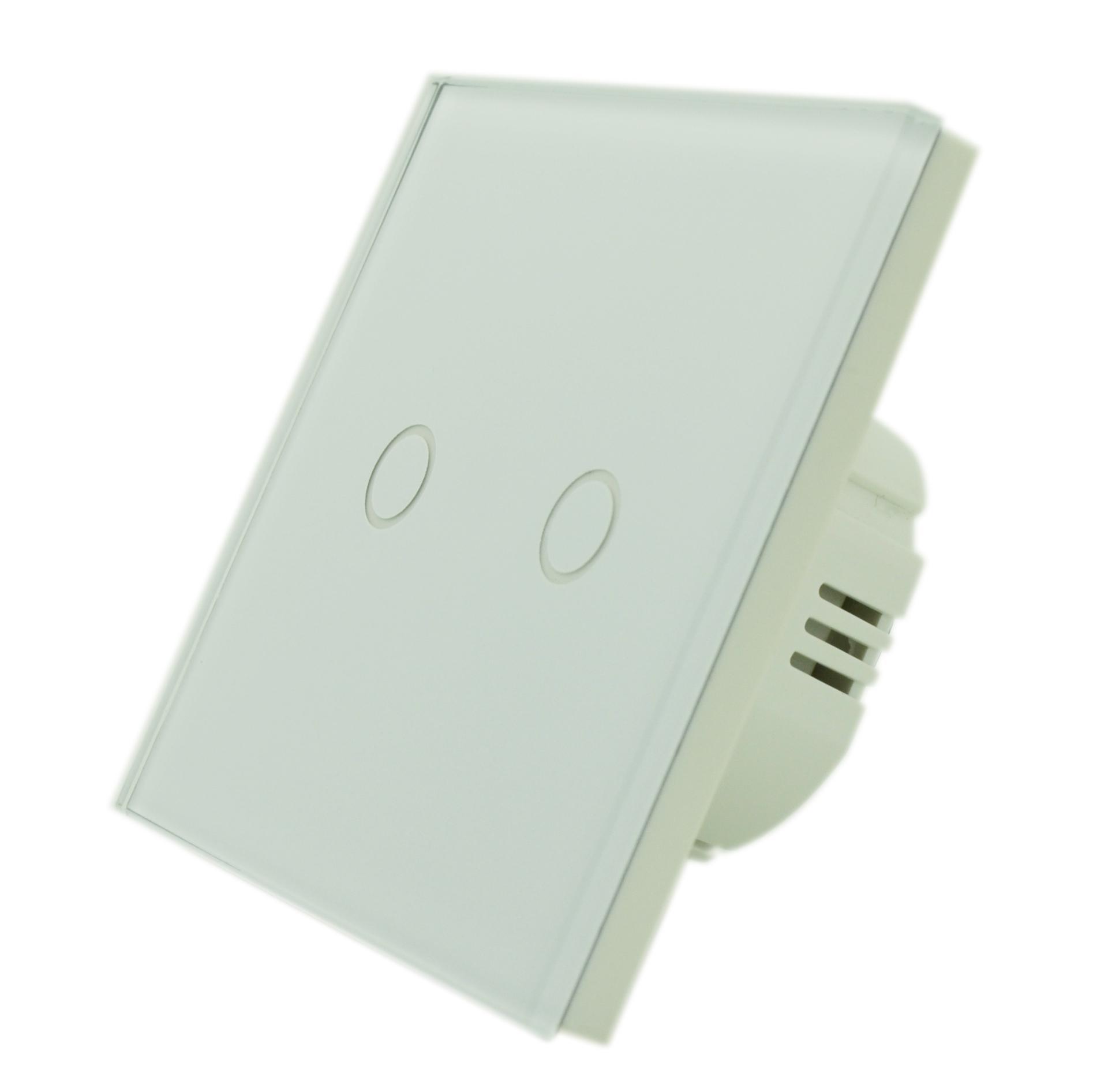 6cea2a5108e Home/Puutetundlikud lülitid/Veksellülitid/Puutetundlik 2-ahela  veksellüliti, valge. ; 