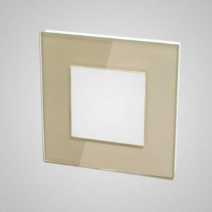 1ne klaasraam, Kuldne, 86*86mm