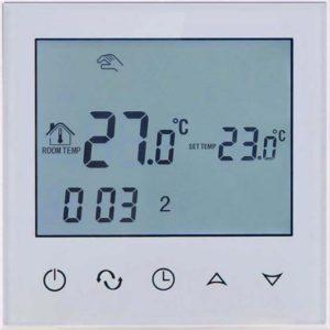 Põrandakütte termostaat  sisseehitatud WIFI mooduliga, 16A, valge, 86*86mm