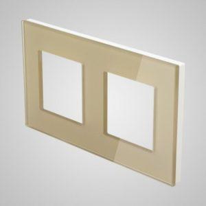 2ne klaasraam, kuldne, 157*86mm