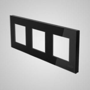 3ne klaasraam, Must, 228*86mm