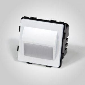 LED valgusti 1W, soe valge, Valge