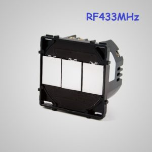 Touch Switch Transmitter 3-gang RF 433MHz